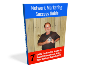 3D Image of Network Marketing Success Guide