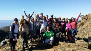 Peter Deth on hike with Internations Estepona Spain January 2018
