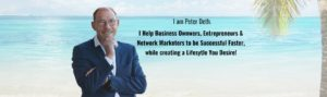 Banner Home Page Peter Deth Network Marketing