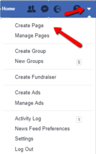 Create a Page on Facebook