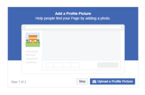 Upload a Profile picture and Cover photo on your Facebook Page