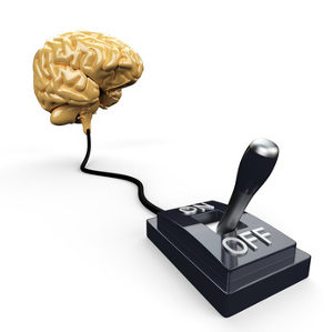 Schalte dein Gehirn aus, um deine Angst zu überwinden