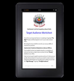 Target Audience Worksheet on Kindle