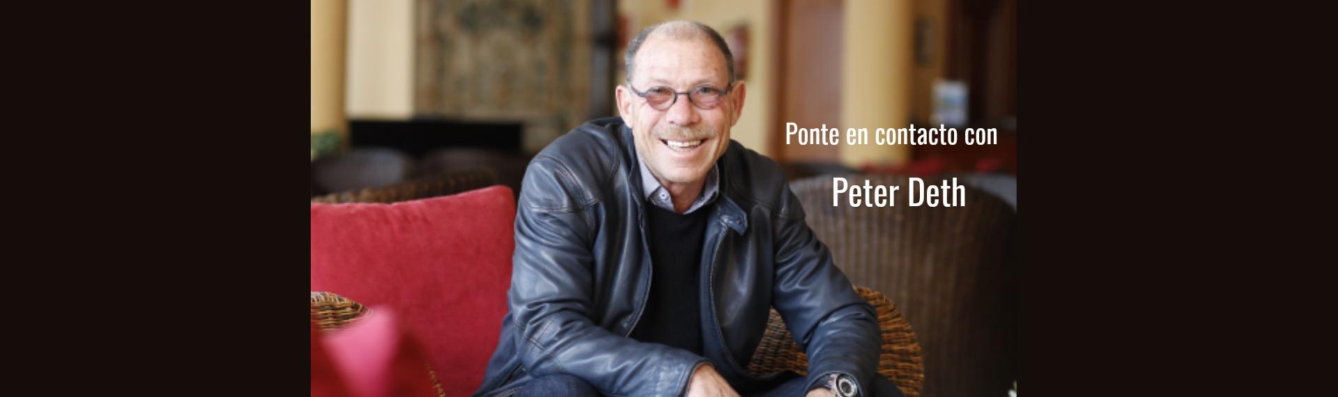 Ponte en contacto con Peter Deth