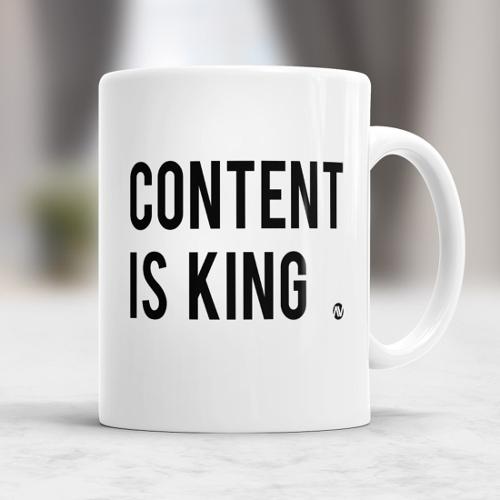 Inhalt ist König