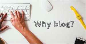 Warum solltest du bloggen?